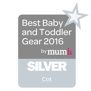 Best Baby and Toddler Gear 2016 by Mum Silver Award