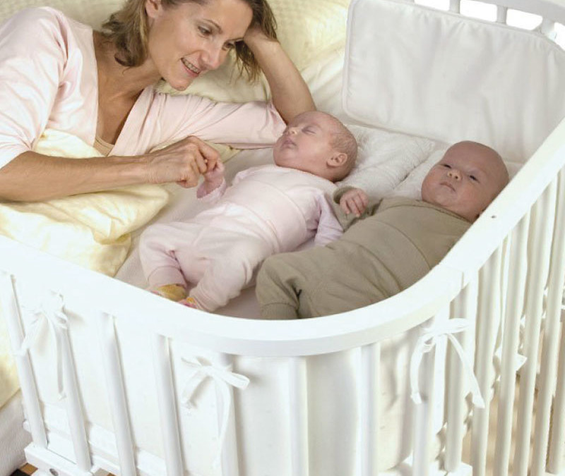 BabyBay, co-sleeping with twins without any of the associated risks