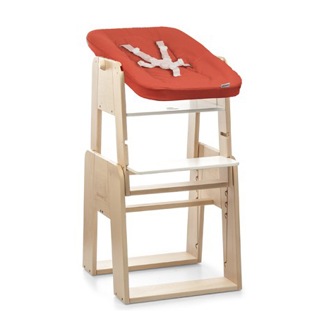 Highchair-Wood-frame-Set-0-m-NEWBORN-SET-RED