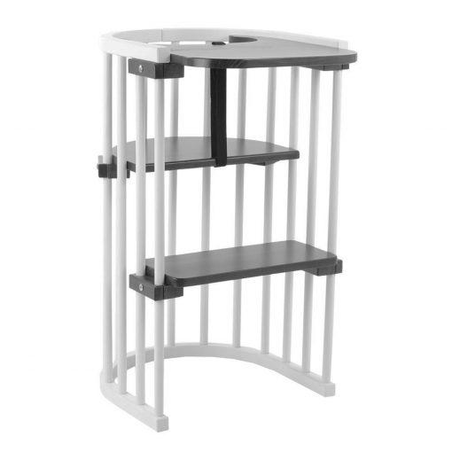 Grey High Chair assembled