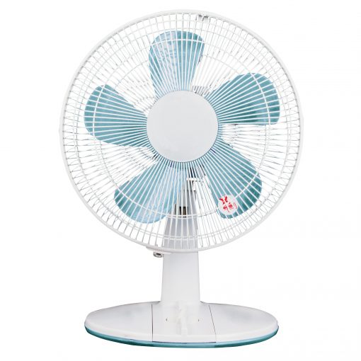 12in White Desk Fan